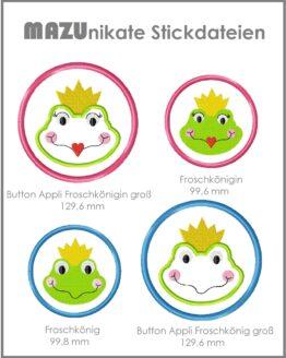 Stickdatei Frosch