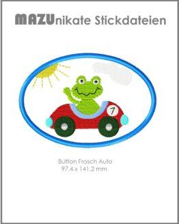 Stickdateie Frosch Auto