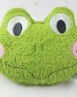 Stickdatei Frosch in the Hoop Körnerkissen, Rassel usw.