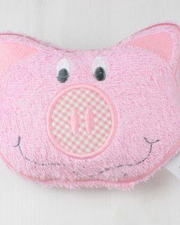 Stickdatei Schwein ITH Körnerkissen, Rassel, Kuscheltier usw.
