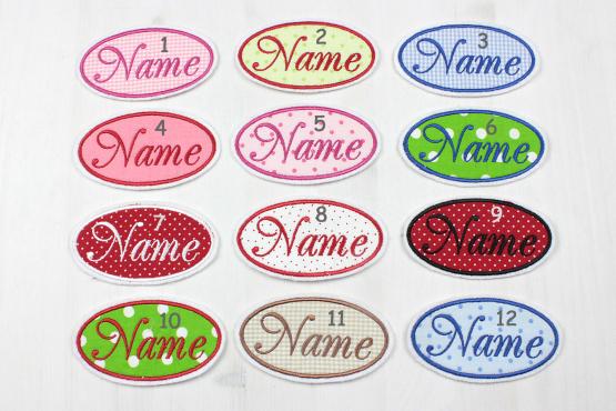 Namensschild mit Wunschtext