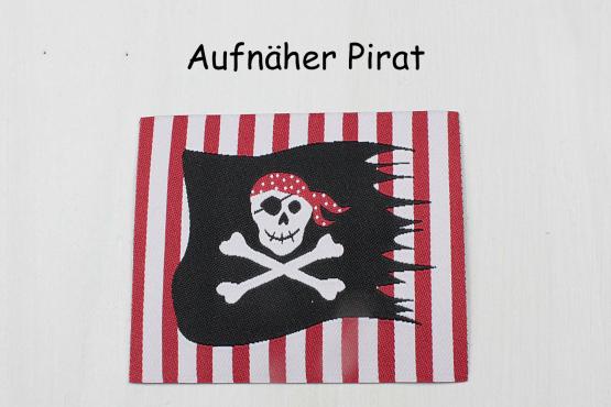 Aufnäher Pirat von SeruKid, Aufnäher Pirat, Bügelbild Pirat, Flicken, Appliktion