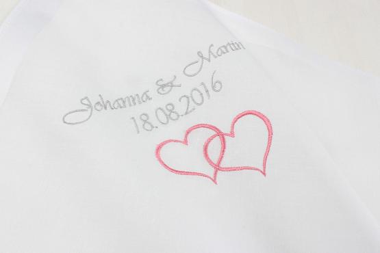 Taschentuch Braut, Taschentuch Hochzeit, Taschentuch Freudentränen, Taschentuch bestickt